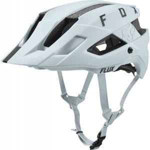 Fox FLUX HELMET SOLID bílá (50 - 55) - Cyklistická helma