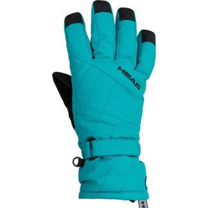 Head PAT oranžová 14-16 - Dětské lyžařské rukavice