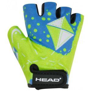 Head GLOVE KID 8820 modrá XL - Dětské cyklistické rukavice