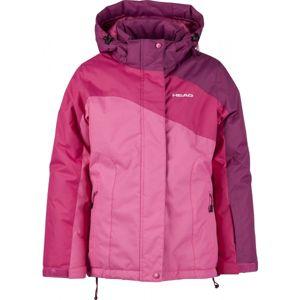 Head TESSA 116-170 růžová 116-122 - Dívčí zimní bunda