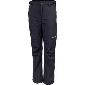 Head NAXOS černá 128-134 - Dětské softshellové kalhoty
