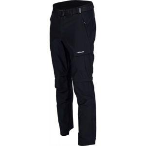 Head EROW černá M - Pánské odepínatelné kalhoty