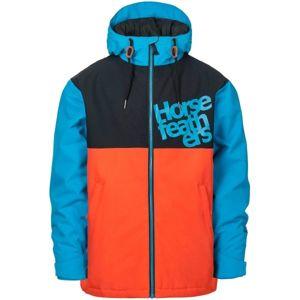 Horsefeathers ATOL YOUTH JACKET oranžová XS - Chlapecká lyžařská/snowboardová bunda