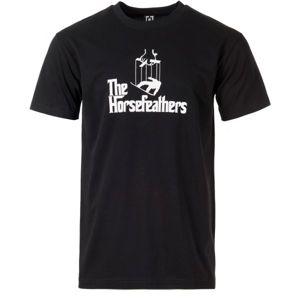Horsefeathers OMERTA T-SHIRT černá L - Pánské tričko