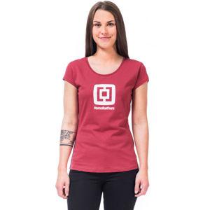 Horsefeathers ELEONOR TOP červená XS - Dámské tričko