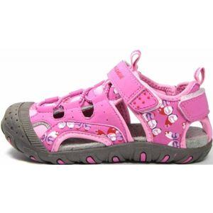 Junior League CORY růžová 24 - Dětské sandály