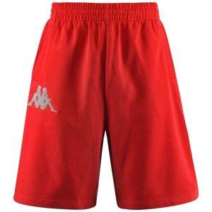 Kappa AUTHENTIC BAREY červená L - Pánské šortky