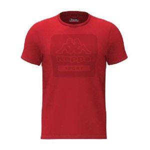 Kappa LOGO BARTEL SLIM červená S - Pánské triko