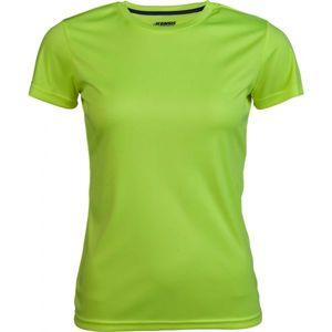 Kensis VINNI žlutá S - Dámské sportovní triko