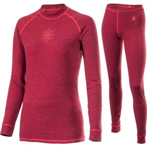 Klimatex ALORA červená S - Set dámského funkčního prádla