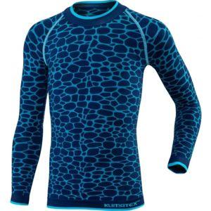 Klimatex DELI modrá 134 - Funkční dětské termo triko