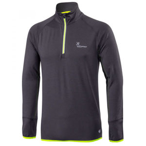Klimatex ENSIO tmavě šedá XXL - Pánský běžecký pulovr