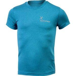 Klimatex MOOS modrá 122 - Junior sportovní triko