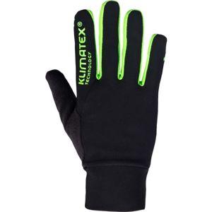 Klimatex SANYOT zelená L - Strečové prstové rukavice