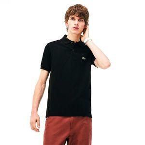 Lacoste MAN SHORT SLEEVES BEST POLO černá L - Pánské polo tričko