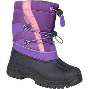 Lewro CANE IV fialová 35 - Dívčí zimní obuv