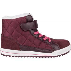 Lewro CUBIQ II fialová 32 - Dětská zimní obuv