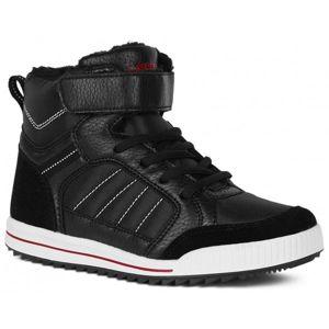 Lewro CUBIQ černá 30 - Dětská zimní obuv