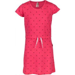 Lewro ATTILA růžová 116-122 - Dívčí šaty