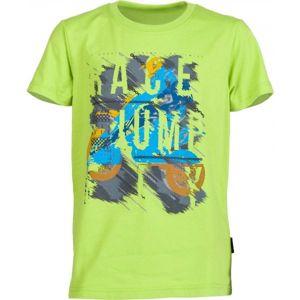 Lewro OZZY světle zelená 140-146 - Chlapecké triko