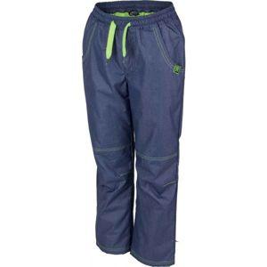 Lewro NING zelená 116-122 - Dětské zateplené kalhoty