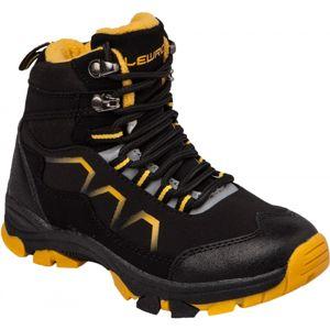 Lewro TAMMY černá 30 - Dětská zimní obuv
