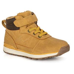 Loap PERT hnědá 35 - Dětská zimní obuv