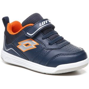 Lotto SET ACE XIII INF SL tmavě modrá 21 - Dětská volnočasová obuv