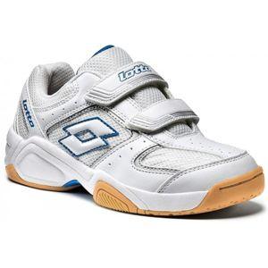 Lotto JUMPER III CL S bílá 32 - Dětská sálová obuv