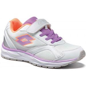 Lotto SPEEDRIDE 200 CL SL fialová 32 - Dětská volnočasová obuv