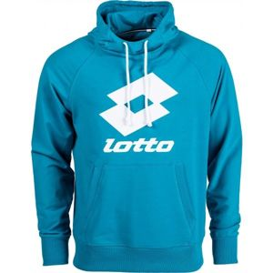 Lotto SMART SWEAT HD FT LB modrá S - Pánská mikina