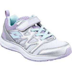 Lotto SPEEDRIDE 300 CL SL bílá 30 - Dětská sportovní obuv