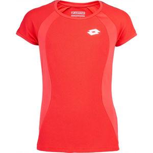 Lotto SQUADRA G TEE PL červená L - Dívčí sportovní tričko