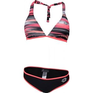 Lotto LESIE černá L - Dámské dvoudílné plavky