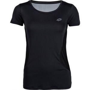 Lotto X-FIT TEE PL W černá XL - Dámské sportovní triko