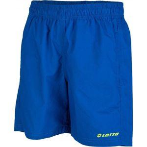 Lotto TODDY modrá 140-146 - Chlapecké plátěné šortky