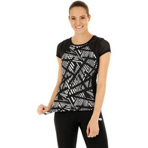 Lotto VABENE W II TEE PL černá XL - Dámské fitness tričko