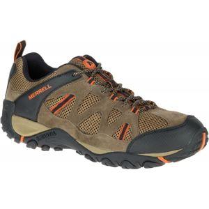 Merrell YOKOTA TRAVERSE VENT hnědá 8.5 - Pánská outdoorová obuv