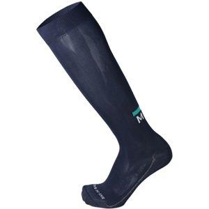 Mico EXTRALIGHT WEIGHT X-RACE SKI SOCKS tmavě modrá M - Závodní lyžařské ponožky