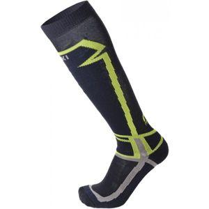 Mico SKI SOCK-BASIC modrá L - Lyžařské ponožky