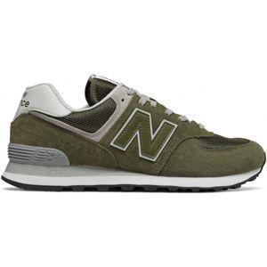 New Balance ML574EGO zelená 8 - Pánská volnočasová obuv