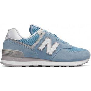 New Balance WL574ESB modrá 5 - Dámská volnočasová obuv