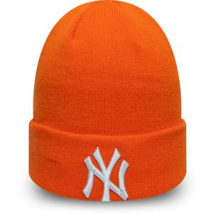 New Era MLB LEAGUE ESSENTIAL CUFF KNIT NEW YORK YANKEES oranžová UNI - Unisex zimní čepice