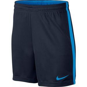 Nike DRY ACDMY SHORT Y modrá S - Dětské fotbalové kraťasy