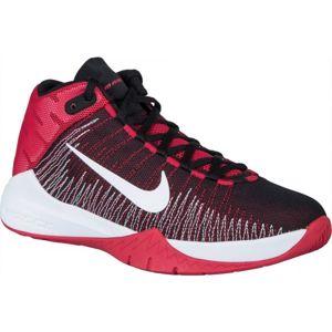 Nike ZOOM ASCENSION červená 6 - Dětská basketbalová obuv