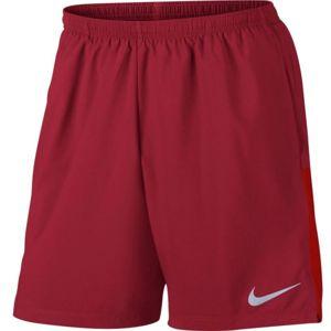 Nike FLX CHLLGR SHORT 7IN červená S - Pánské běžecké kraťasy