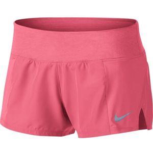 Nike DRY SHORT CREW 2 růžová L - Dámské šortky