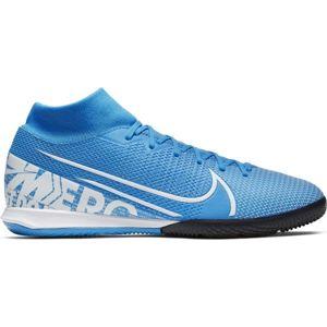 Nike MERCURIAL SUPERFLY 7 ACADEMY IC modrá 9 - Pánské sálovky