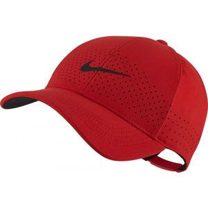 Nike AEROBILL LEGACY91 červená NS - Tréninková kšiltovka