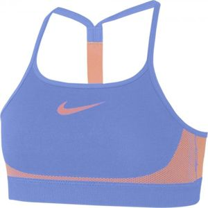 Nike BRA SEAMLESS oranžová M - Dívčí sportovní podprsenka